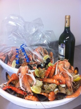 Nos plateaux de fruits de mer pour la fin de l'année